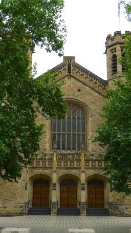 Entrance of Bonython Hall, Adelaide University