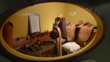RMW Museum - a traditional saddler's bench