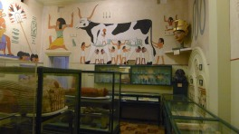 Egyptian room - small, but packed full of fascinating drawings and artefacts