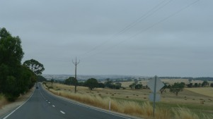 Heading towards the Barossa Valley