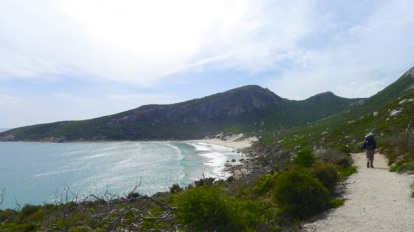 4/13 Approaching Little Oberon Bay from the south